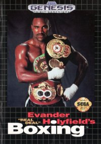 Обложка Evander 'Real Deal' Holyfield's Boxing