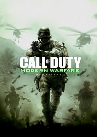 Обложка Call of Duty: Modern Warfare Remastered