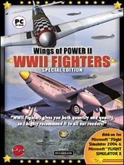 Обложка Wings of Power 2 WWII Fighters
