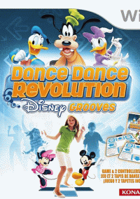 Обложка Dance Dance Revolution Disney Grooves