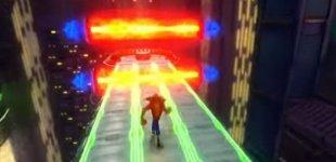 Crash Bandicoot N. Sane Trilogy. Демонстрация уровня Future Frenzy