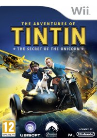 Обложка The Adventures of Tintin: The Secret of the Unicorn