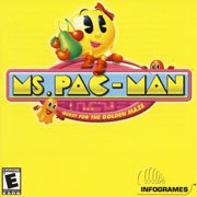 Обложка Ms. Pac-Man: Quest for the Golden Maze