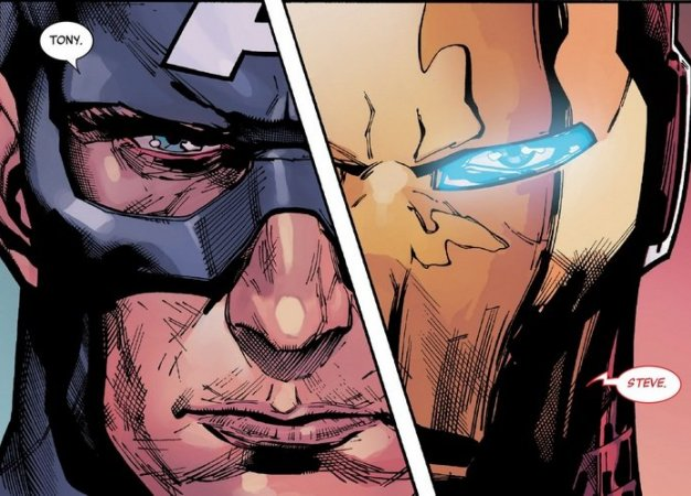 Secret Empire: противостоянию Стива Роджерса иТони Старка нет конца