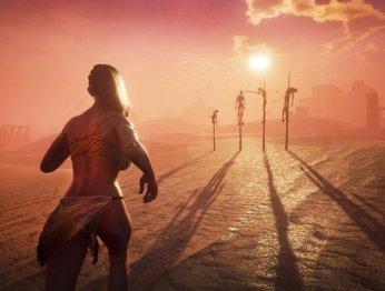 Масленые тела иулучшенная физика вновых модах Conan Exiles (18+)