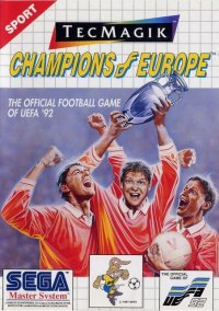 Обложка Champions of Europe