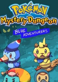 Обложка Pokémon Mystery Dungeon: Blue Rescue Team