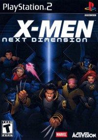 Обложка X-Men: Next Dimension