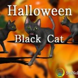 Скриншот Halloween Black Cat