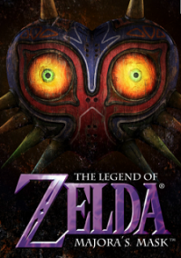Обложка The Legend of Zelda: Majora's Mask