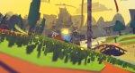 Йота парит на бумажном самолете на кадрах из Tearaway для PS4 - Изображение 6