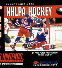 Обложка NHLPA Hockey '93