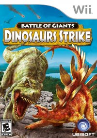Обложка Battle of Giants: Dinosaur Strike