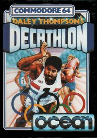 Обложка Daley Thompson's Decathlon