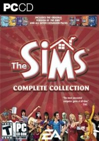 Обложка The Sims Complete Collection