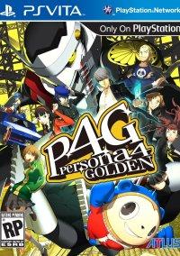 Обложка Persona 4 Golden
