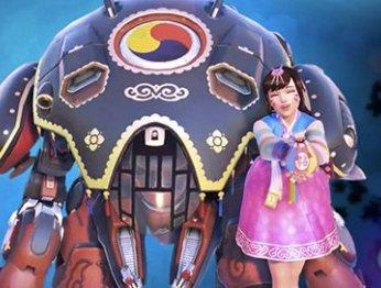 Overwatch готовится встречать китайский Новый год