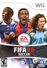 Обложка FIFA Soccer 08