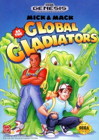 Обложка Mick & Mack as the Global Gladiators