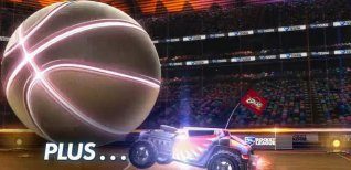 Rocket League. Трейлер DLC Hoops