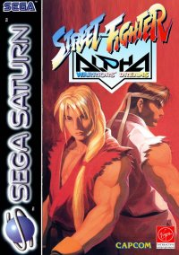 Обложка Street Fighter Alpha: Warriors' Dreams