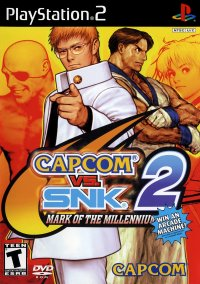 Обложка Capcom vs. SNK 2: Mark of the Millenium