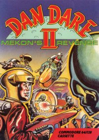 Обложка Dan Dare II: Mekon's Revenge