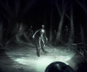 Герой пугает тварей спичками в трейлере хоррора Grave