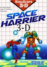 Обложка Space Harrier 3-D