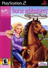 Barbie Horse Adventures: Wild Horse Rescue – фото обложки игры