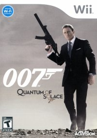 Обложка 007: Quantum of Solace