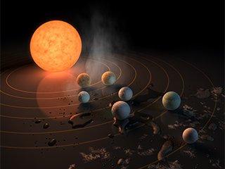 Все самое важное об открытии NASA: экзопланеты в системе TRAPPIST-1