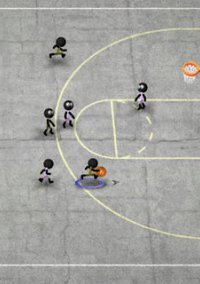 Обложка Stickman Basketball