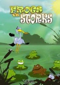 Обложка Frogs vs. Storks
