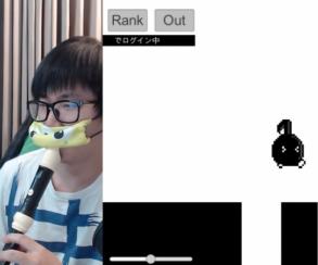Азия сходит с ума от голосового платформера Eighth Note! Don't stop!