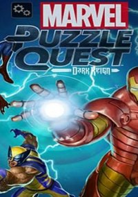 Обложка Marvel Puzzle Quest: Dark Reign