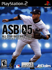 Обложка All-Star Baseball 2005