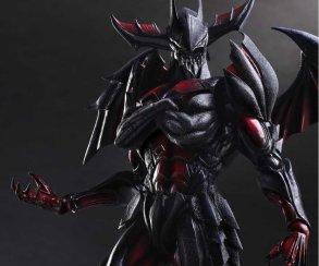 Capcom и Square выпускают фигурку героя  Monster Hunter в адской броне