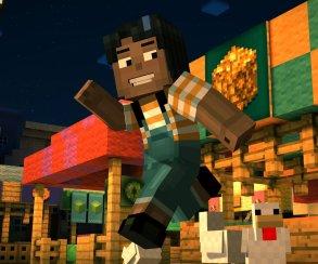 В Minecraft: Story Mode есть верстаки и выбор внешности главного героя