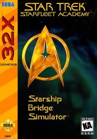 Обложка Star Trek: Starfleet Academy: Starship Bridge Simulator