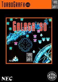 Обложка Galaga '90