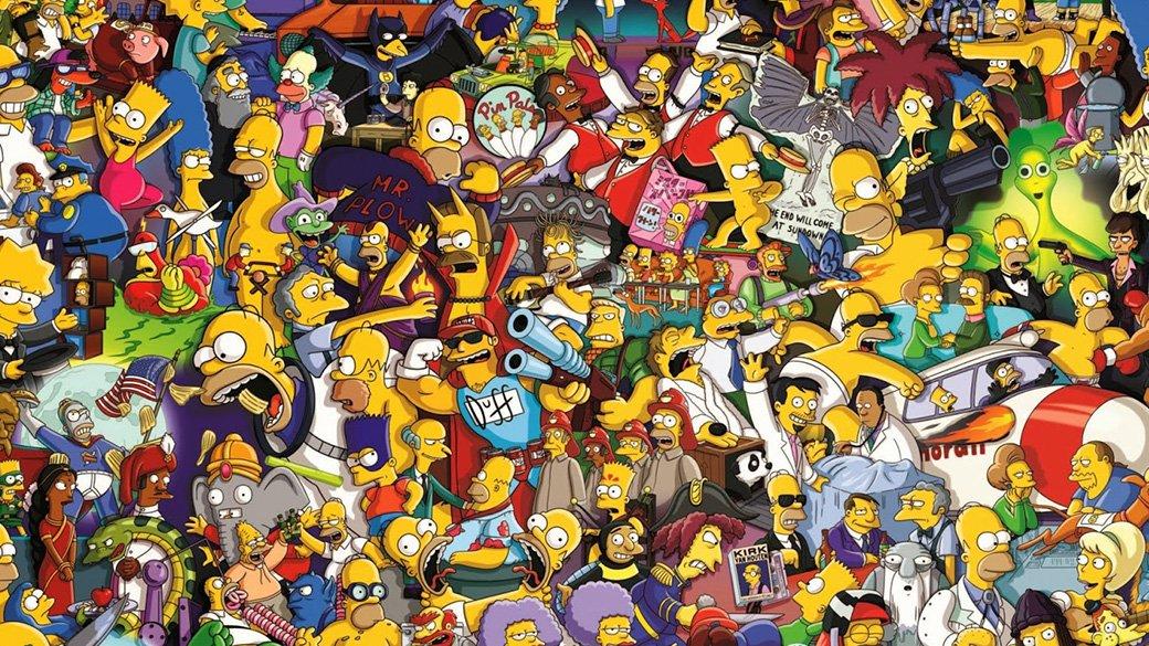 C днем рождения, Симпсоны - Изображение 1