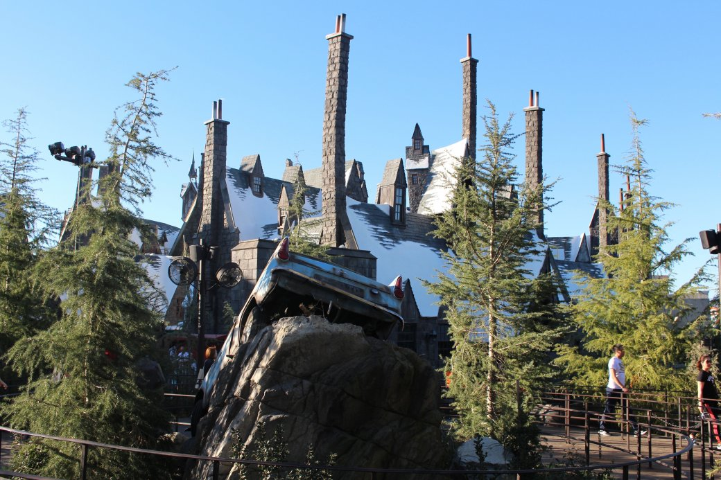 Первые фото Хогвартса из парка развлечений по «Гарри Поттеру» - Изображение 1