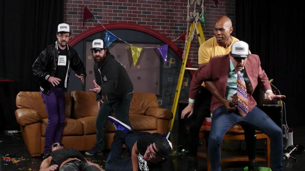 Время лепить мемасы! Галерея лучших кадров с шоу Devolver на E3 2017 - Изображение 32