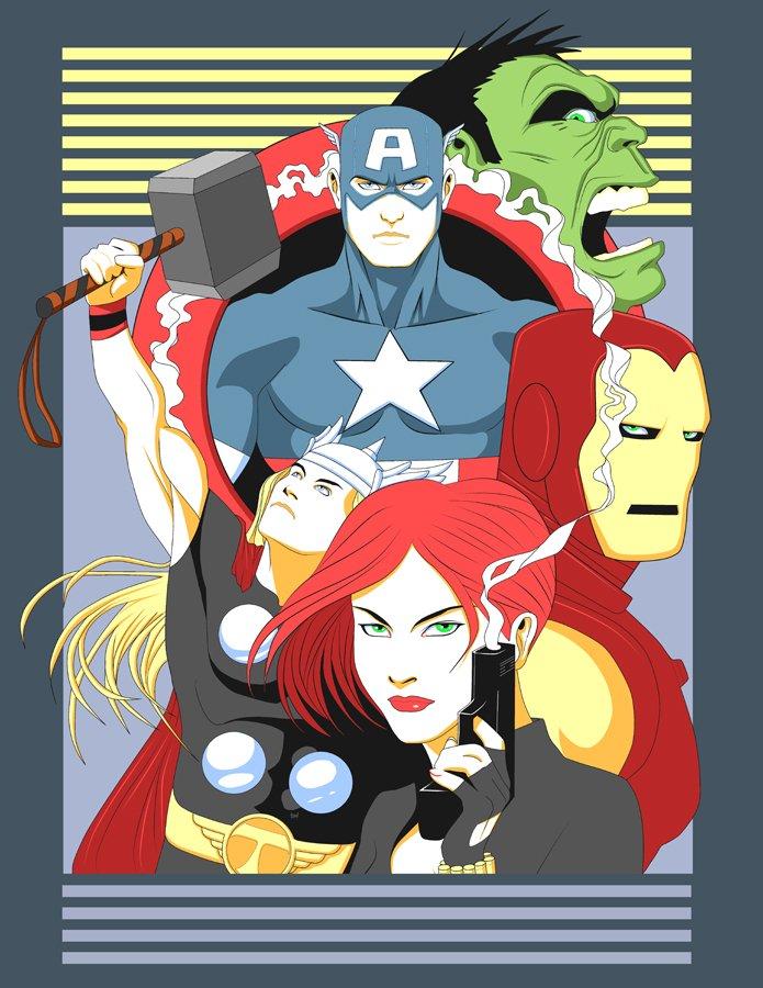Галерея вариаций: Мстители-женщины, Мстители-дети... - Изображение 173
