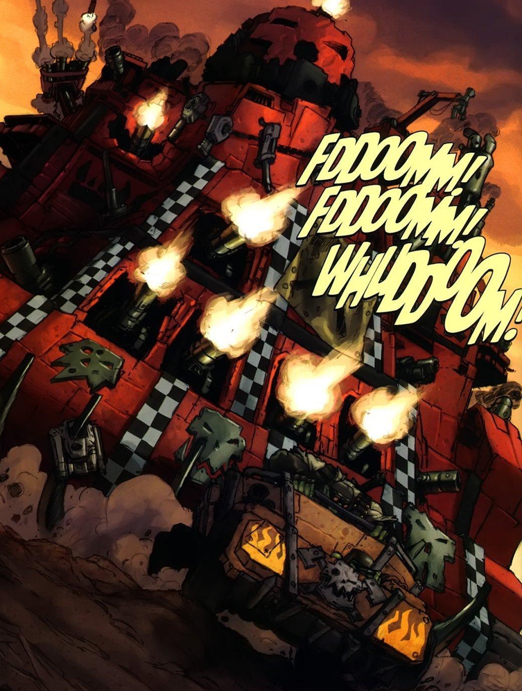 Самые крутые комиксы по Warhammer 40.000. - Изображение 14
