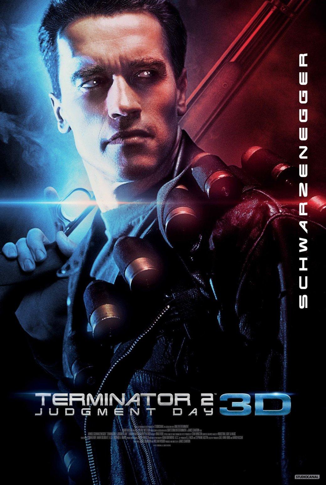 «Терминатор 2» выйдет в 3D в 2017 году - Изображение 1