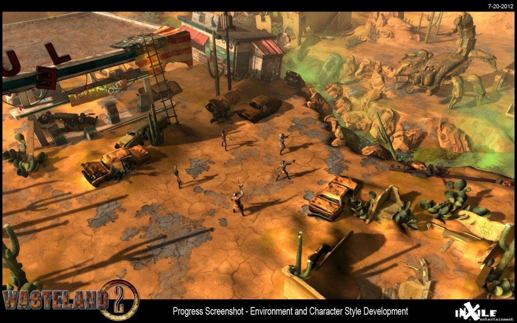 Опубликован первый скриншот Wasteland 2 - Изображение 1