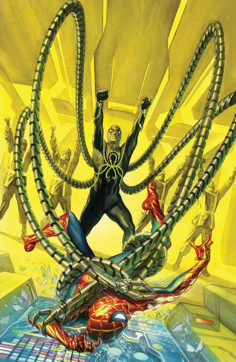 Marvel представила тайную обложку с Человеком-пауком – союзником Гидры - Изображение 3
