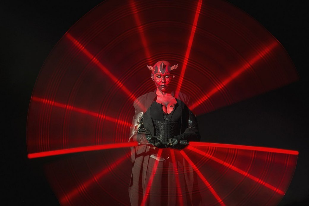 Косплей дня: невероятная женская версия Дарта Мола из«Звездных войн». - Изображение 12